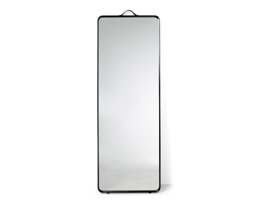 Menu - Norm Standspiegel - schwarz - 1