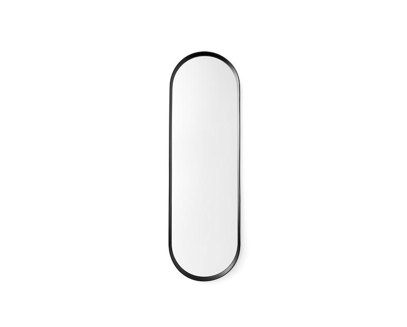 Menu - Norm Wandspiegel oval - schwarz - 1