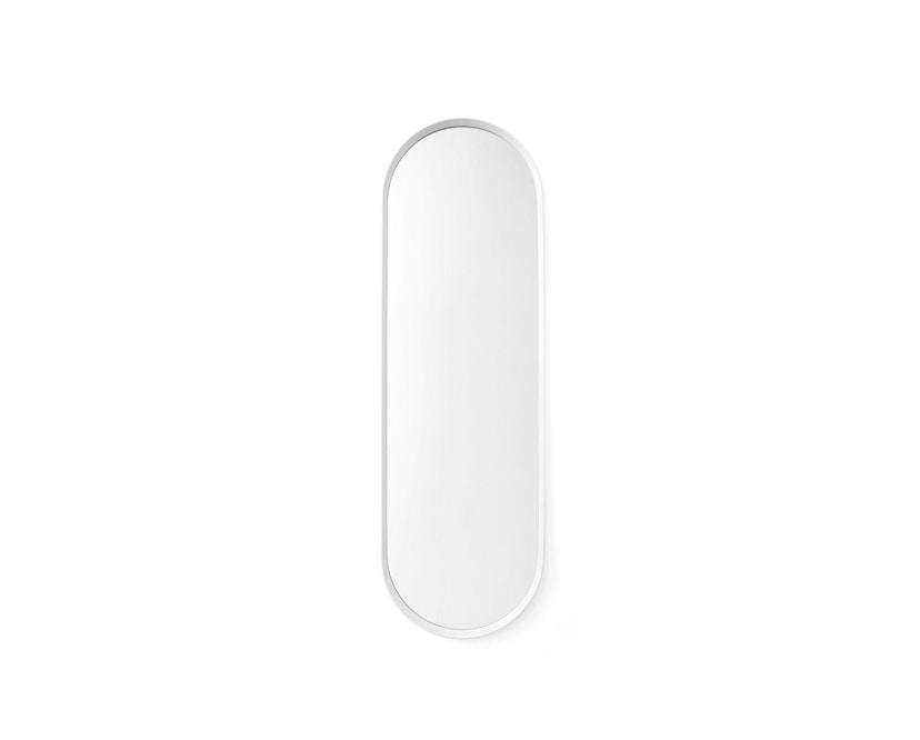 Menu - Norm Wandspiegel oval - weiß - 1