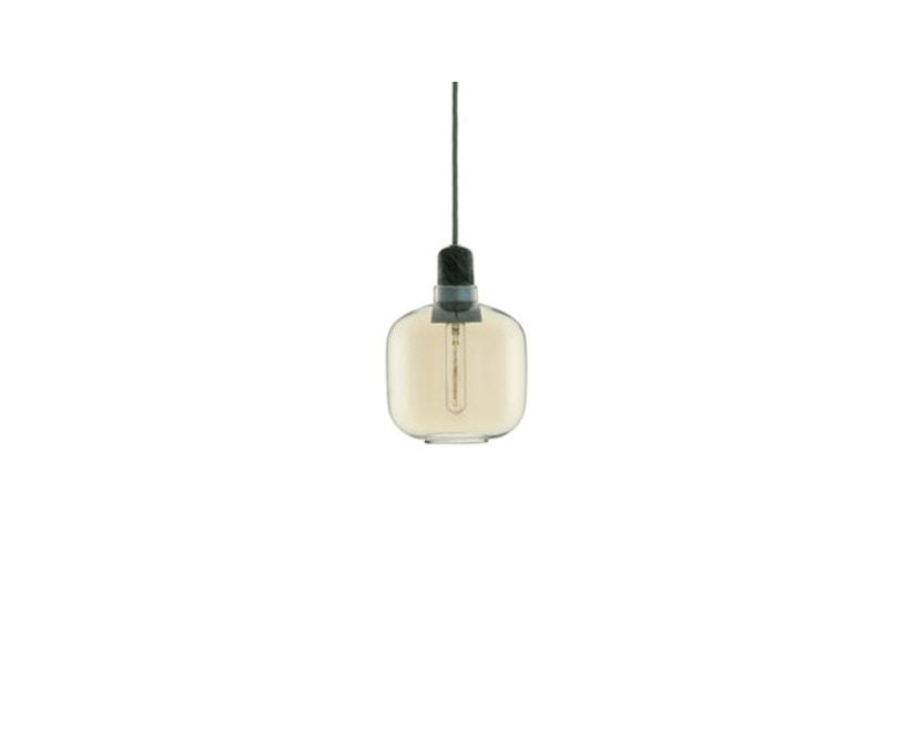 Normann Copenhagen - Amp hanglampen - S - goud/groen - 1