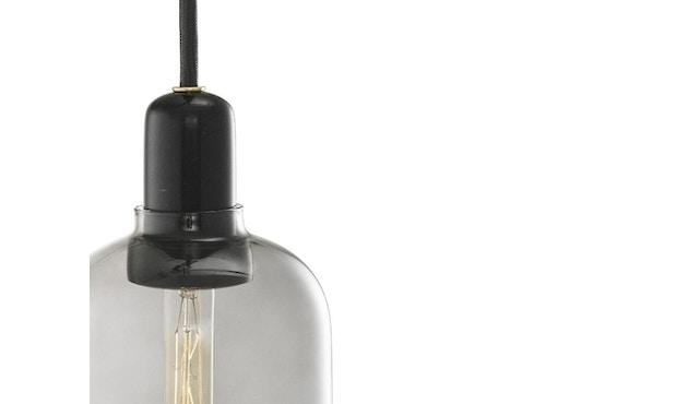 Normann Copenhagen - Amp hanglampen - L - zwart/rook - 2