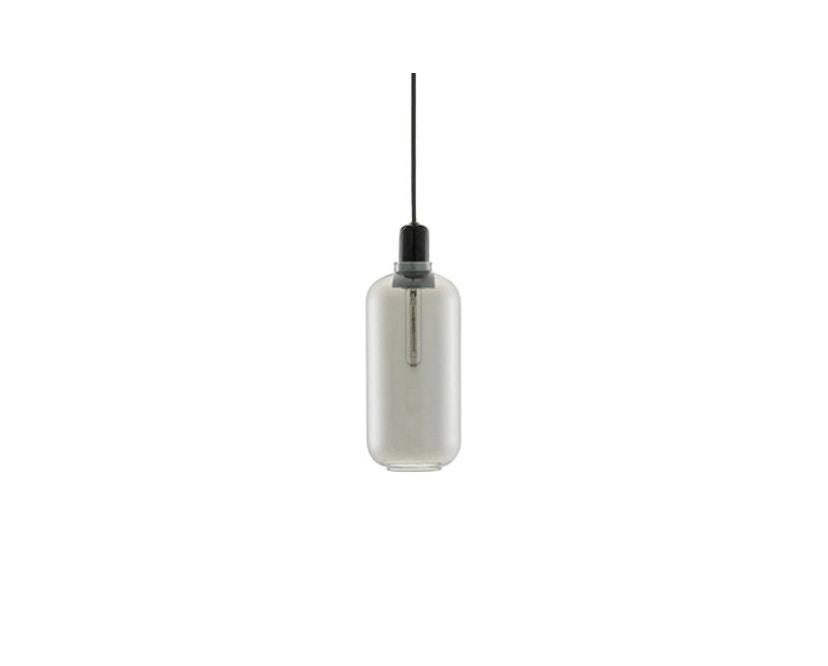 Normann Copenhagen - Amp hanglampen - L - zwart/rook - 1