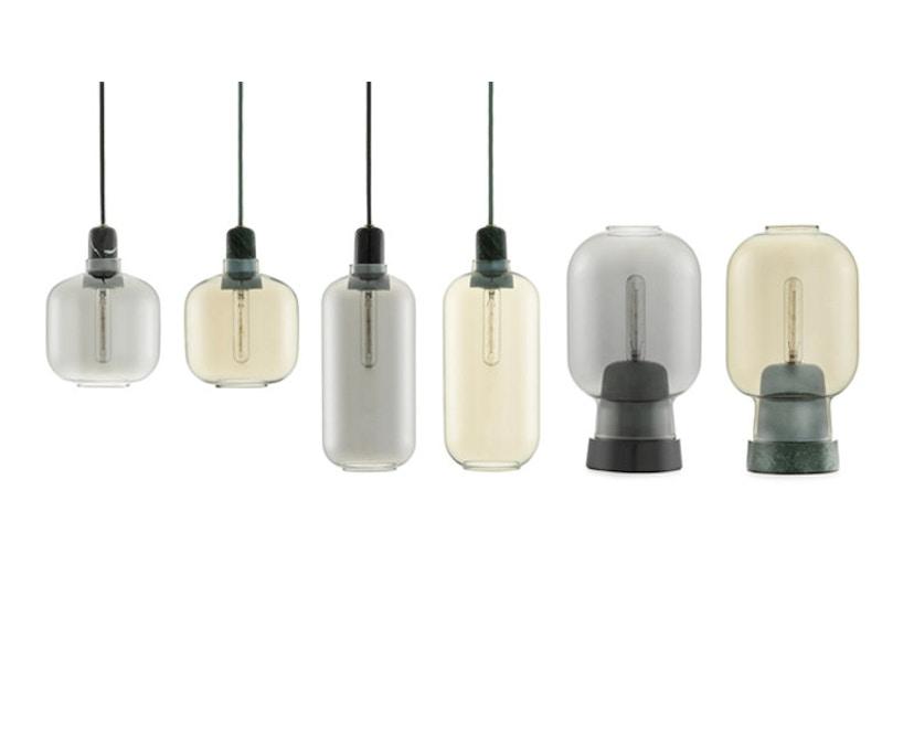 Normann Copenhagen - Amp tafellamp - zwart/rook - 2