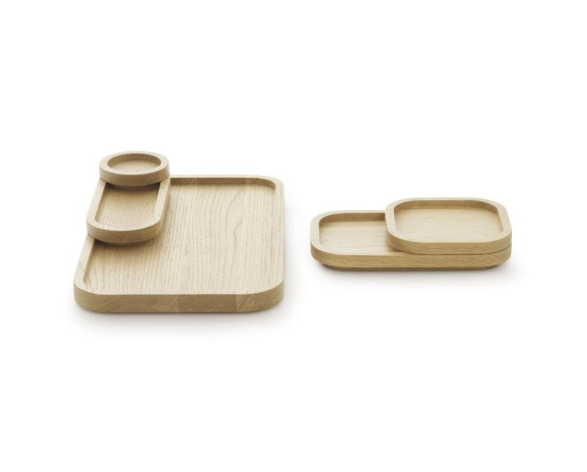 Normann Copenhagen - Astro Tablett - Oak - Ø 8 cm - 3