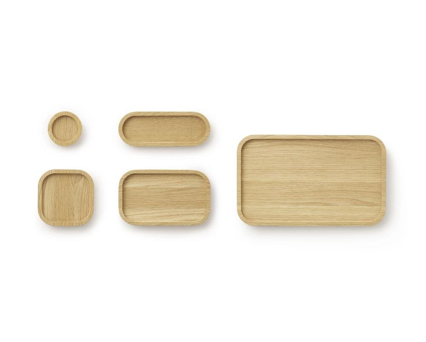 Normann Copenhagen - Astro Tablett - Oak - Ø 8 cm - 4