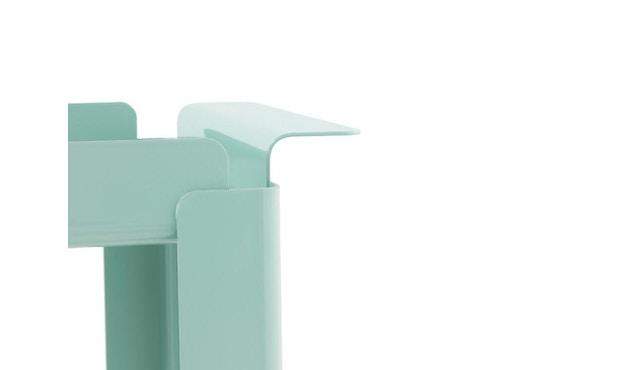 Normann Copenhagen - Box bijzettafel - M - turquoise - 3