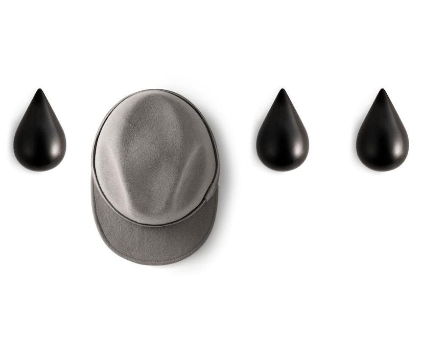 Normann Copenhagen - Dropit haak - S - zwart/zwart - 4