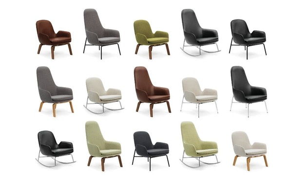 Normann Copenhagen - Era Sessel hoch mit Holzgestell - 2