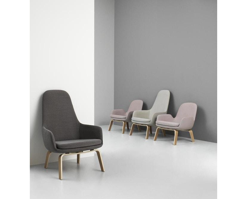 Normann Copenhagen - Era Sessel hoch mit Holzgestell - 3