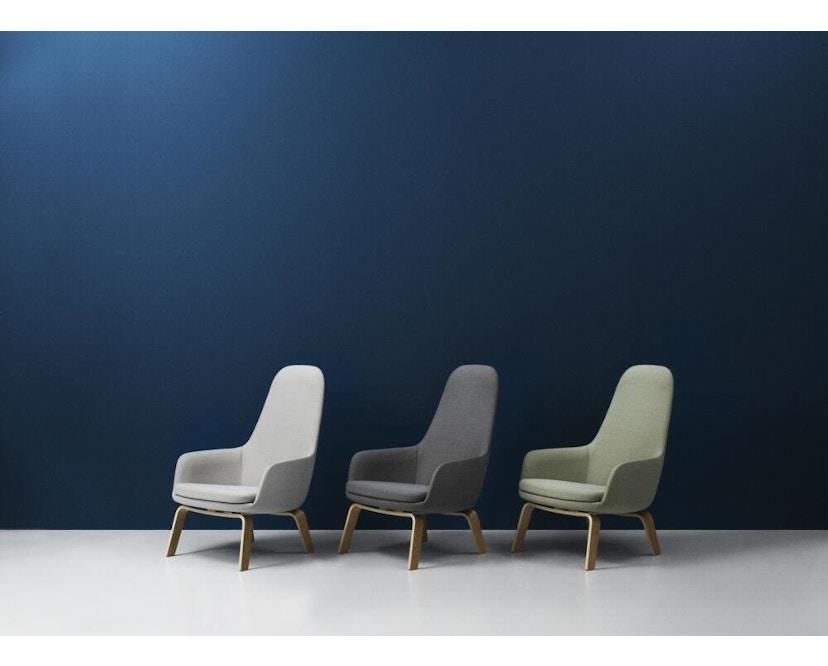 Normann Copenhagen - Era Sessel hoch mit Holzgestell - 4