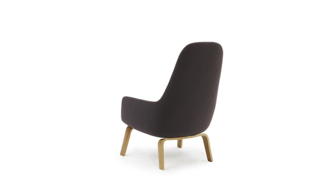 Normann Copenhagen - Era Sessel hoch mit Holzgestell - Stoff Fame 64055 - Eiche - 3