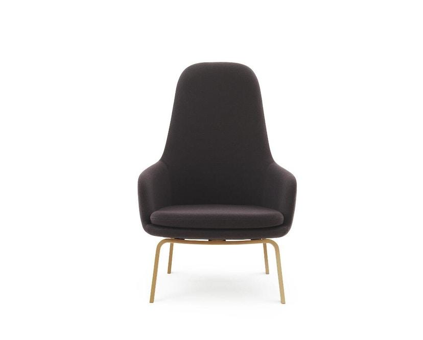 Normann Copenhagen - Era Sessel hoch mit Holzgestell - Stoff Fame 64055 - Eiche - 0