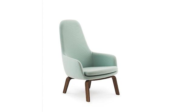 Normann Copenhagen - Era Sessel hoch mit Holzgestell - Stoff Fame 67068 - Walnuss - 1