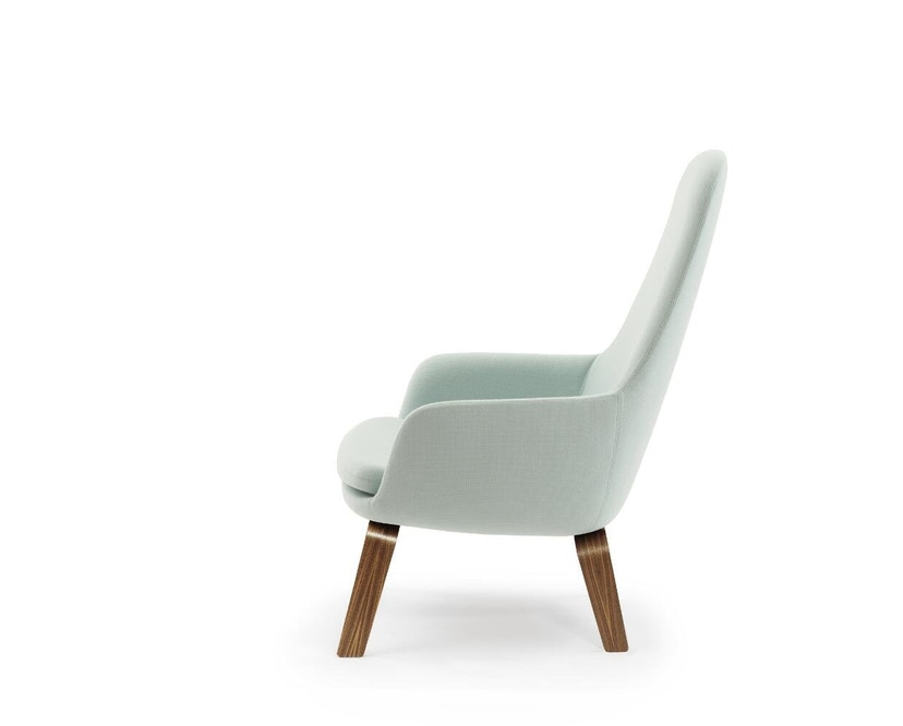 Normann Copenhagen - Era Sessel hoch mit Holzgestell - Stoff Fame 67068 - Walnuss - 2