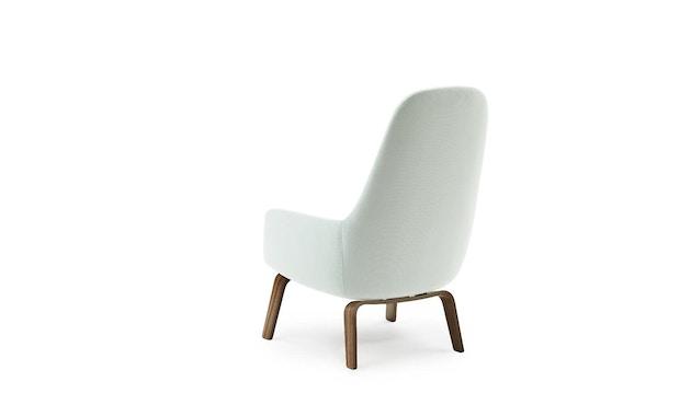 Normann Copenhagen - Era Sessel hoch mit Holzgestell - Stoff Fame 67068 - Walnuss - 3