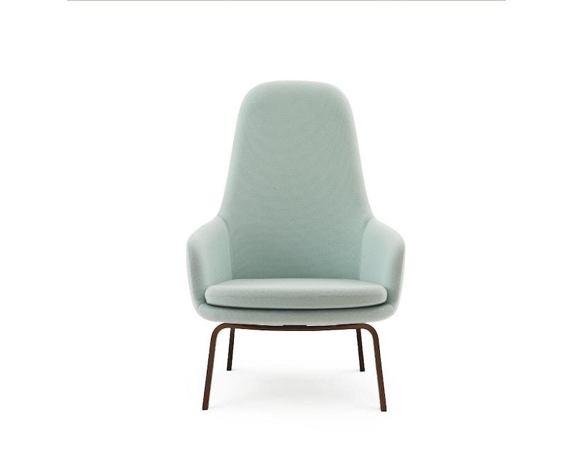 Normann Copenhagen - Era Sessel hoch mit Holzgestell - Stoff Fame 67068 - Walnuss - 0