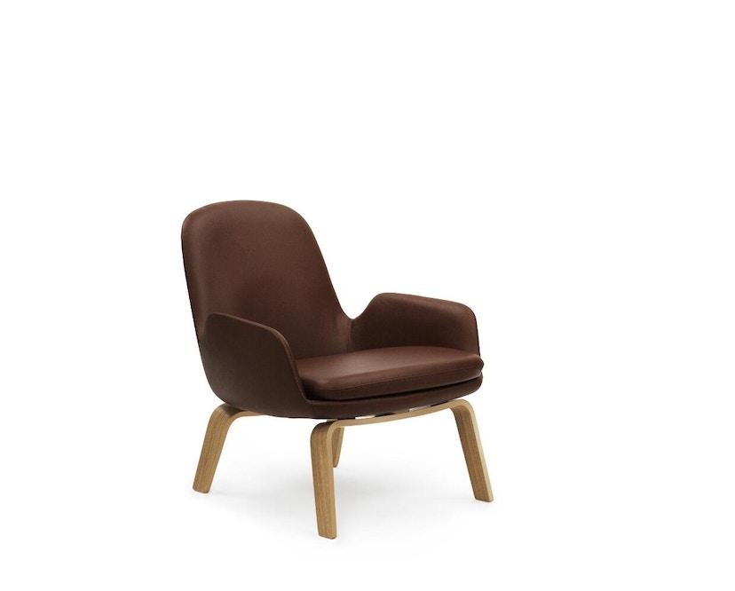 Normann Copenhagen - Era Sessel mit Holzgestell - Leder Tango 41598 - Eiche - 2