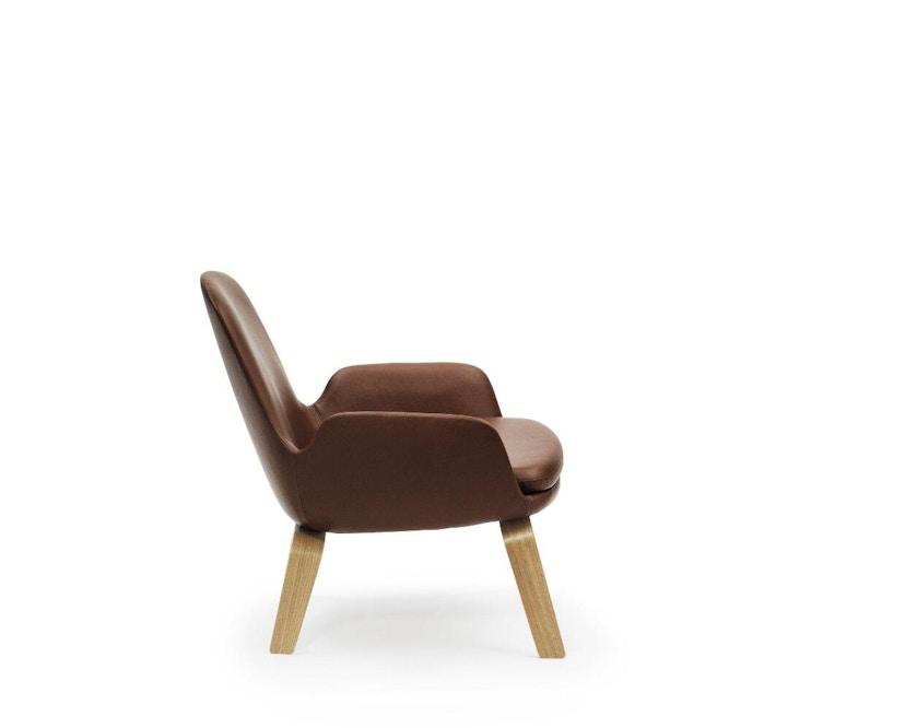 Normann Copenhagen - Era Sessel mit Holzgestell - Leder Tango 41598 - Eiche - 3