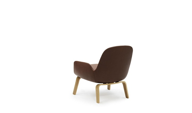 Normann Copenhagen - Era Sessel mit Holzgestell - Leder Tango 41598 - Eiche - 4