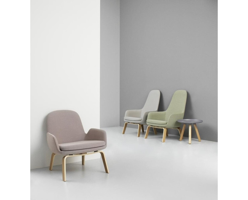 Normann Copenhagen - Era Sessel mit Holzgestell - Leder Tango 41598 - Eiche - 6