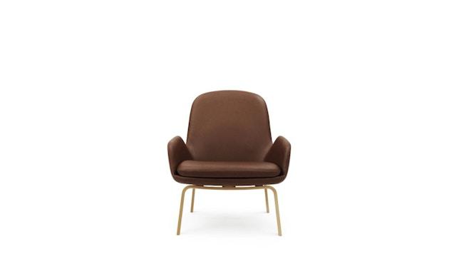 Normann Copenhagen - Era Sessel mit Holzgestell - Leder Tango 41598 - Eiche - 1