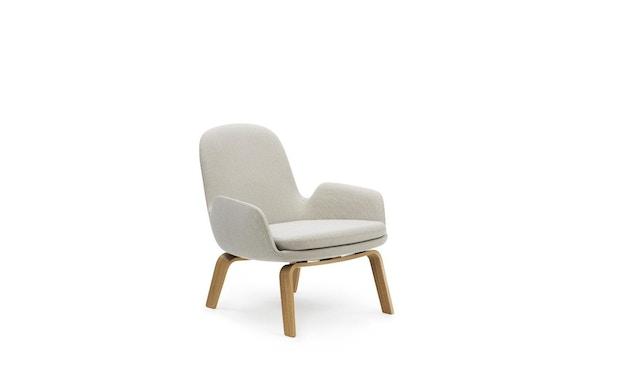 Normann Copenhagen - Era Sessel mit Holzgestell - Stoff Breeze Fusion 4104 - Eiche - 2