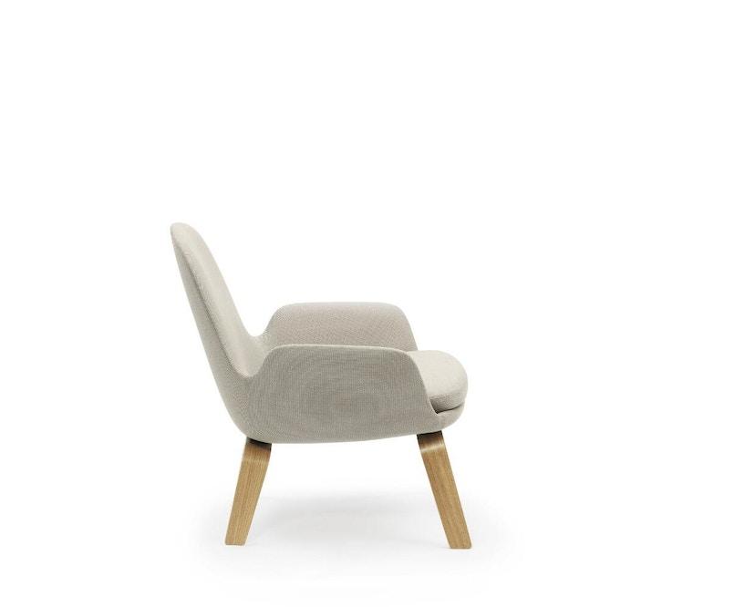 Normann Copenhagen - Era Sessel mit Holzgestell - Stoff Breeze Fusion 4104 - Eiche - 3
