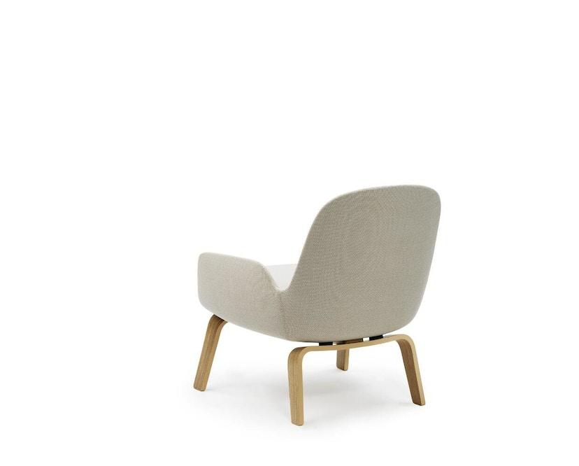 Normann Copenhagen - Era Sessel mit Holzgestell - Stoff Breeze Fusion 4104 - Eiche - 4