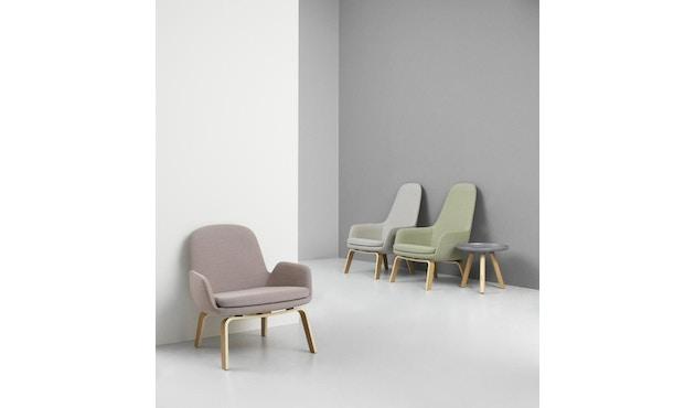 Normann Copenhagen - Era Sessel mit Holzgestell - Stoff Fame 68143 - Eiche - 5