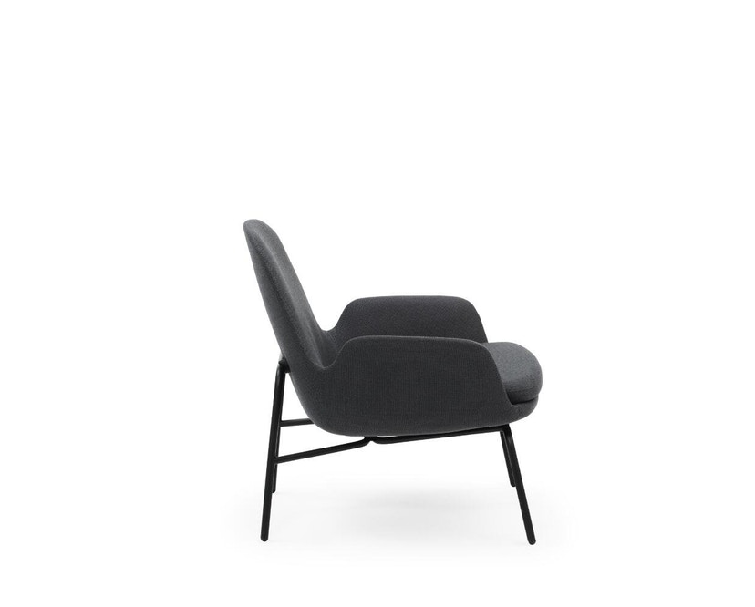 Normann Copenhagen - Fauteuil Era  - zwart staal/ Breeze Fusion 4004 - 3