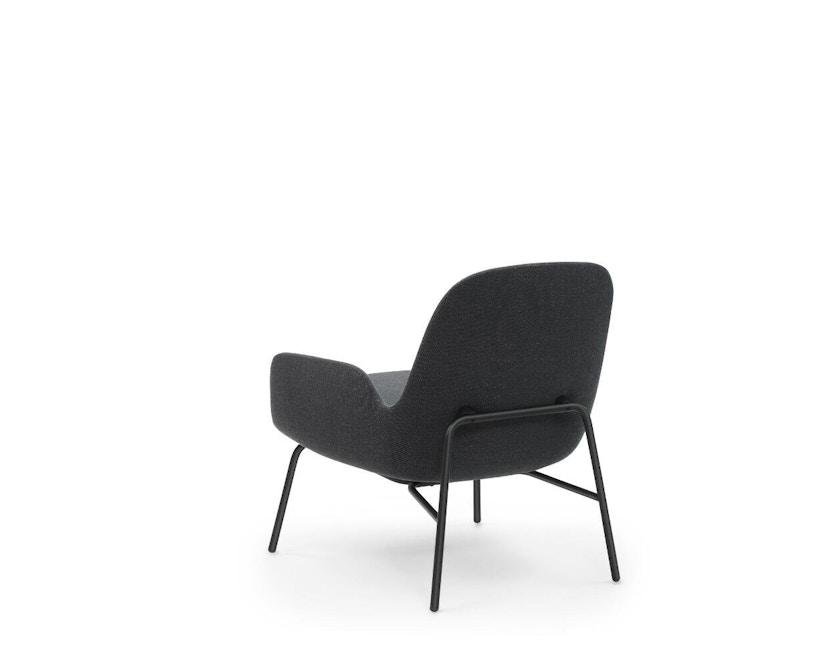 Normann Copenhagen - Fauteuil Era  - zwart staal/ Breeze Fusion 4004 - 4
