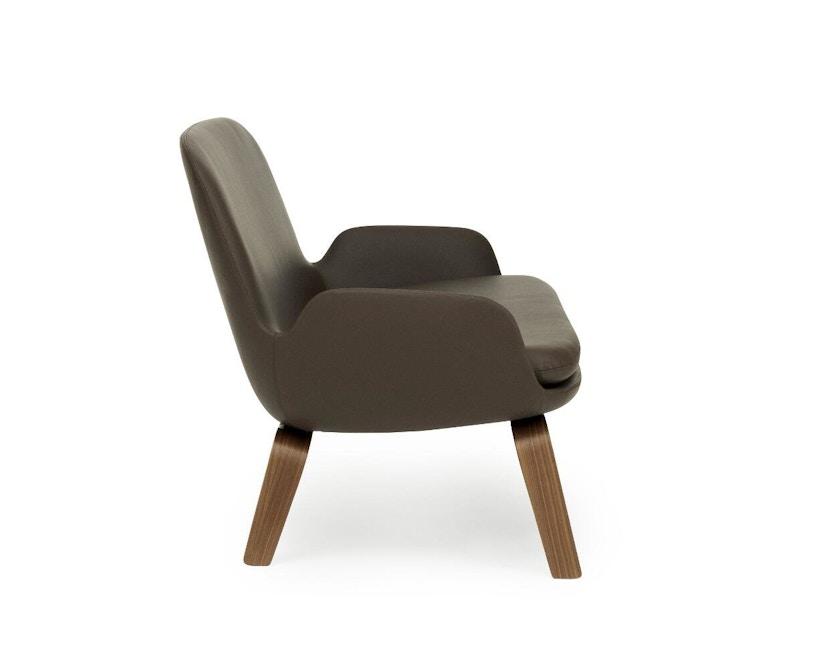 Normann Copenhagen - Era Sofa mit Holzgestell - Leder Tango 41598 - Walnuss - 3