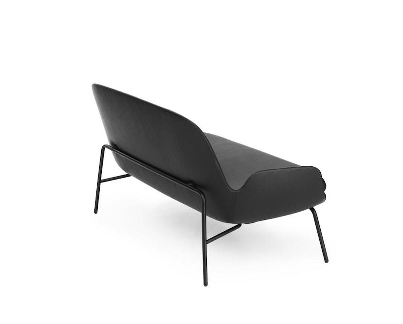 Normann Copenhagen - Era Sofa mit Stahlgestell - Leder Tango 41599 - Schwarz - 11