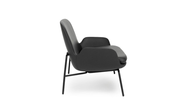 Normann Copenhagen - Era Sofa mit Stahlgestell - Leder Tango 41599 - Schwarz - 6