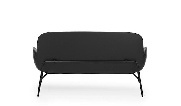 Normann Copenhagen - Era Sofa mit Stahlgestell - Leder Tango 41599 - Schwarz - 9