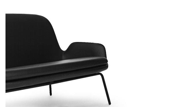 Normann Copenhagen - Era Sofa mit Stahlgestell - Leder Tango 41599 - Schwarz - 10