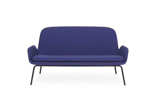 Normann Copenhagen - Era Sofa mit Stahlgestell - Stoff Fame Hybrid 2501 - Schwarz - 3