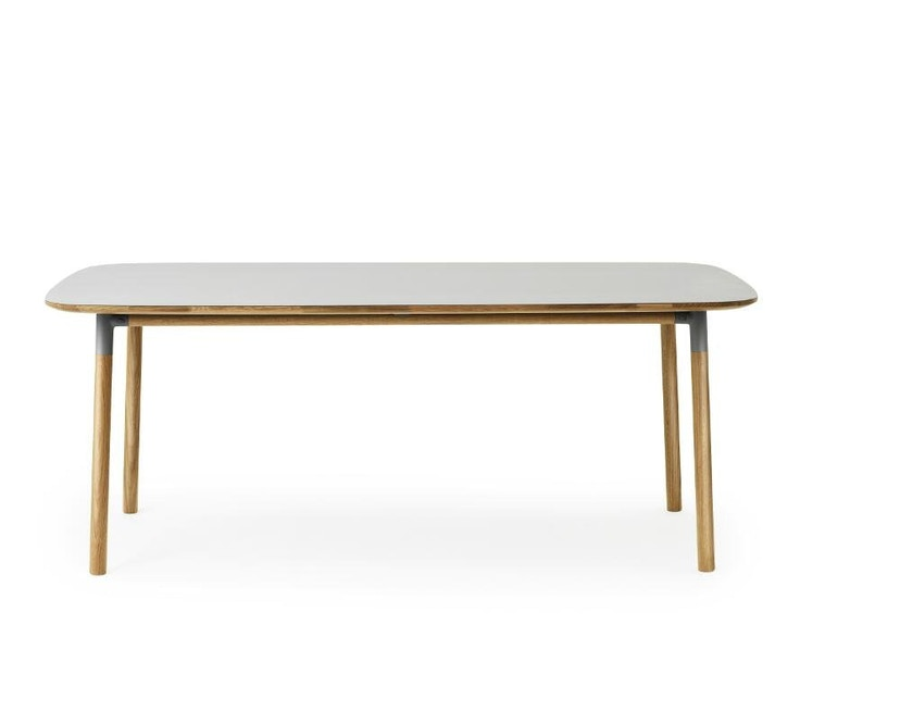 Normann Copenhagen - Form Tisch - grey/ oak - M - 1