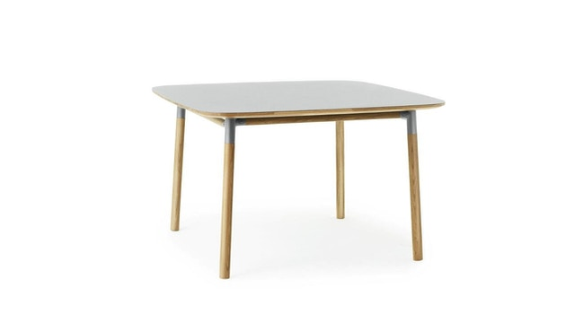 Normann Copenhagen - Form Tisch - grey/ oak - S - 2