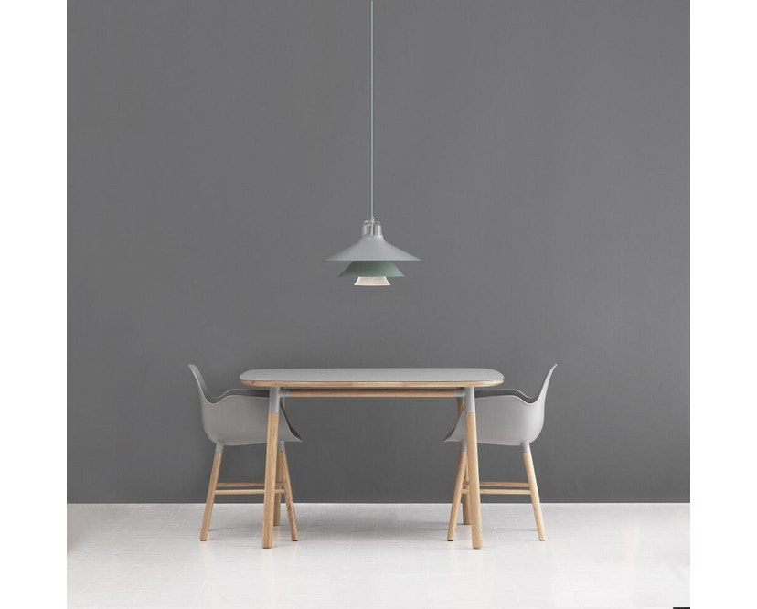 Normann Copenhagen - Form Tisch - grey/ oak - S - 3