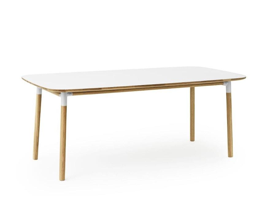 Normann Copenhagen - Form Tisch - white/ oak - M - 2