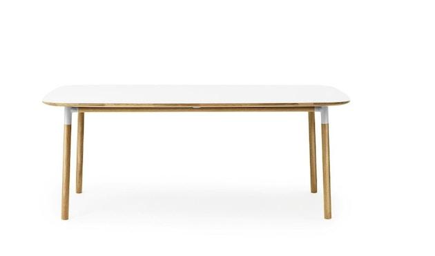 Normann Copenhagen - Form Tisch - white/ oak - M - 1