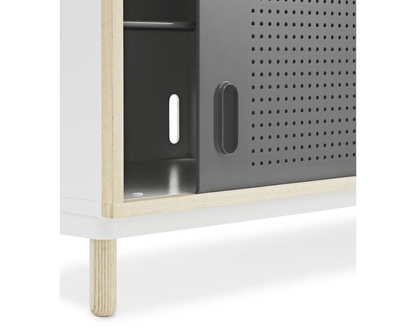 Normann Copenhagen - Kabino Sideboard mit Schubladen - grey - 3