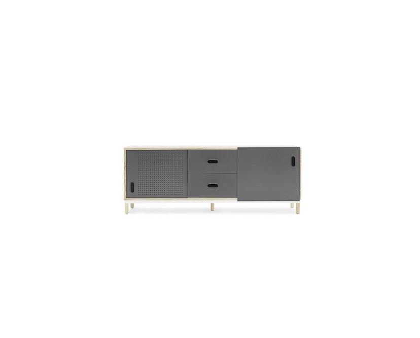 Normann Copenhagen - Kabino Sideboard mit Schubladen - grey - 1
