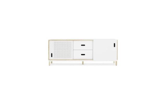 Normann Copenhagen - Kabino Sideboard mit Schubladen - white - 1