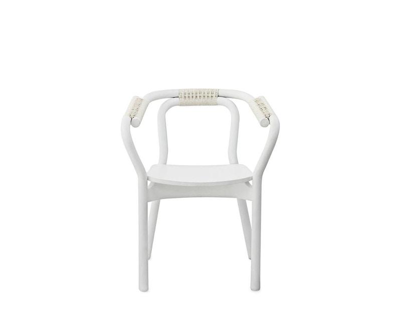 Normann Copenhagen - Knot Armlehnstuhl - white - 1