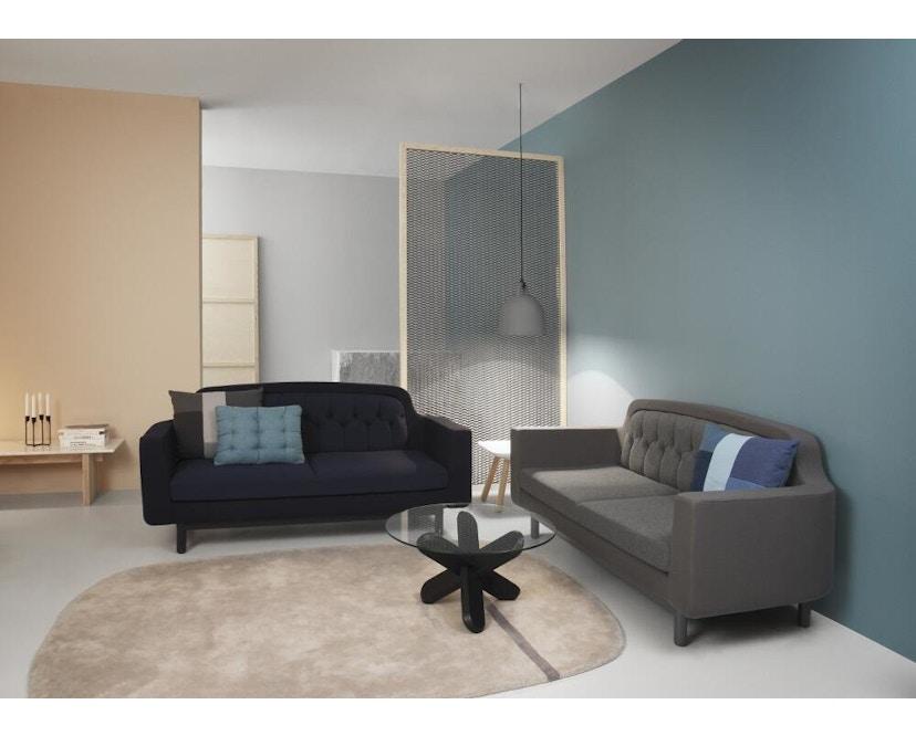 Normann Copenhagen - Onkel 3-Sitzer Sofa - light grey - 4
