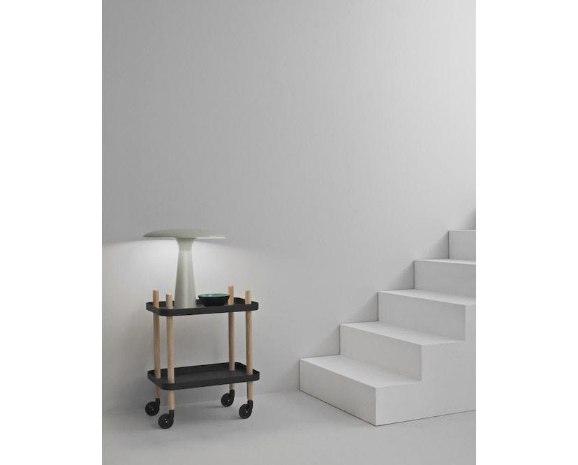 Normann Copenhagen - Shelter Tischleuchte - limestone - 6