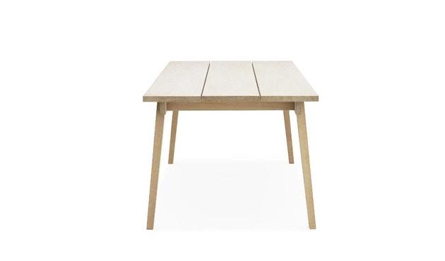 Normann Copenhagen - Slice Tisch - oak - M - 2