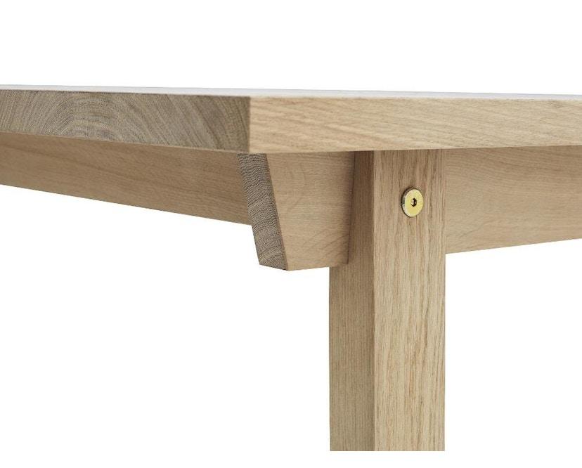 Normann Copenhagen - Slice Tisch - oak - M - 3
